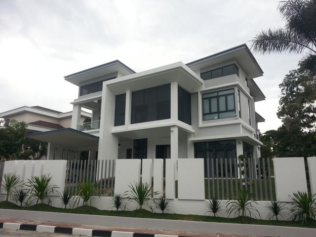 rumah banglo 3 tingkat kevo bina sdn bhd